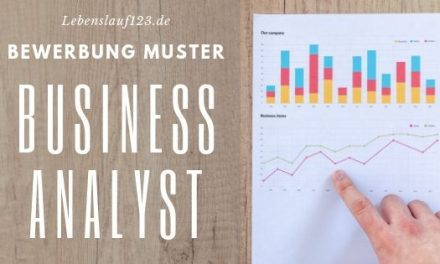 Bewerbung Muster Business Analyst